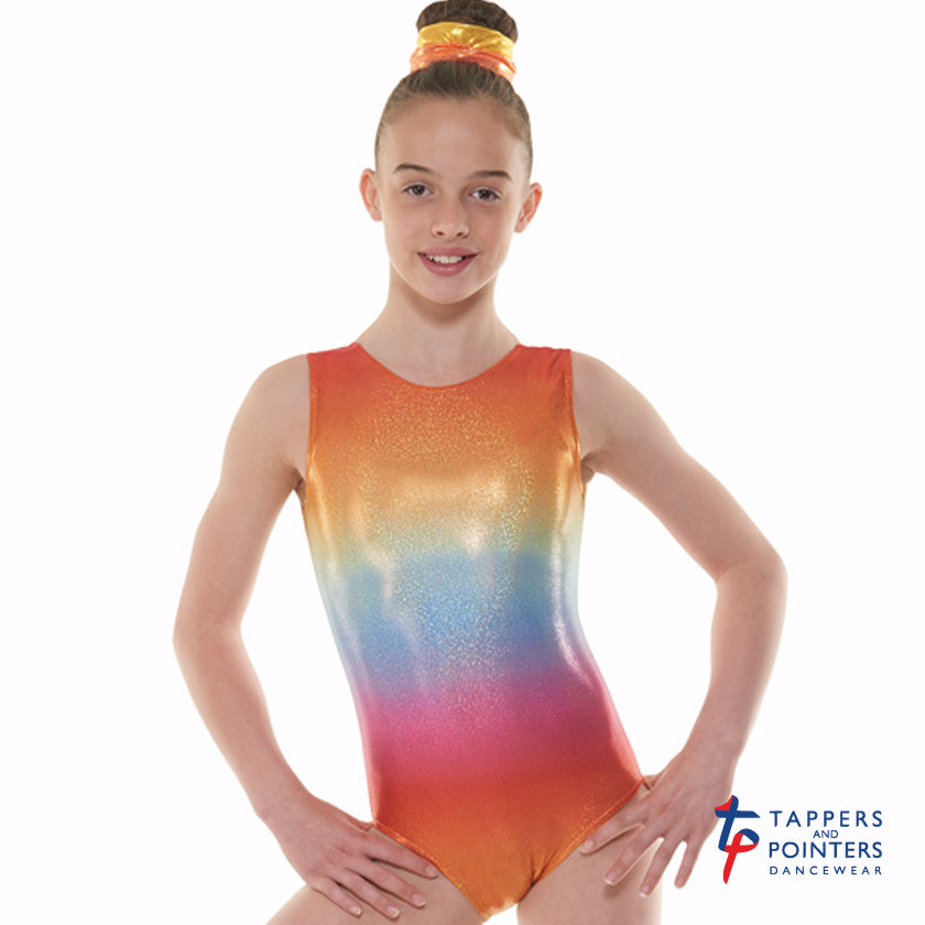 0b05cd386 Tappers and Pointers Sleeveless Kaleidoscope Gymnastics Leotard ...