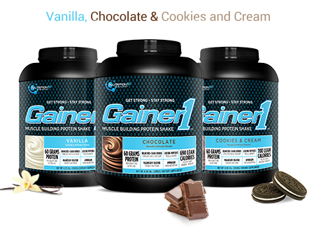 Gainer1 Flavors