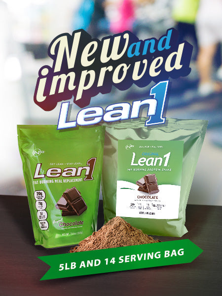 New and Improve Lean1 5-lb and 14 serving bag