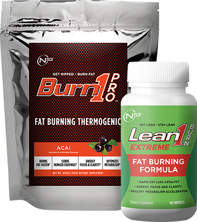 Lean1 Burn1 Extreme and Burn1 Pro