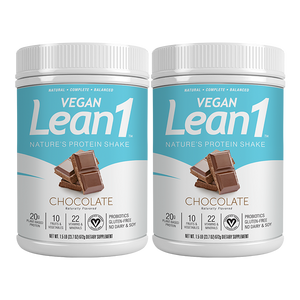 Lean1 Vegan Chocolate (2 tubs)