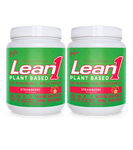 Lean1 Plant-Based Strawberry (2 tubs)