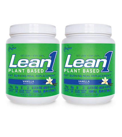 Lean1 Plant-Based Vanilla (2 tubs)