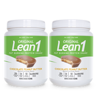 Lean1 Chocolate Peanut Butter (2 tubs)