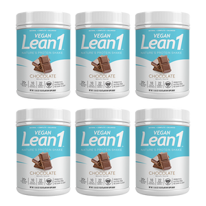 Lean1 Vegan Chocolate (6 tubs)