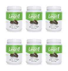 Lean1 Cookies & Cream (6 tubs)