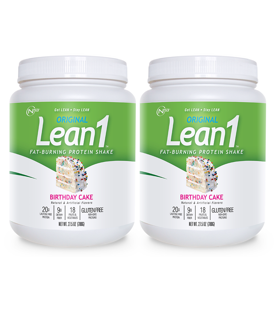 Lean1 Birthday Cake (2 tubs)