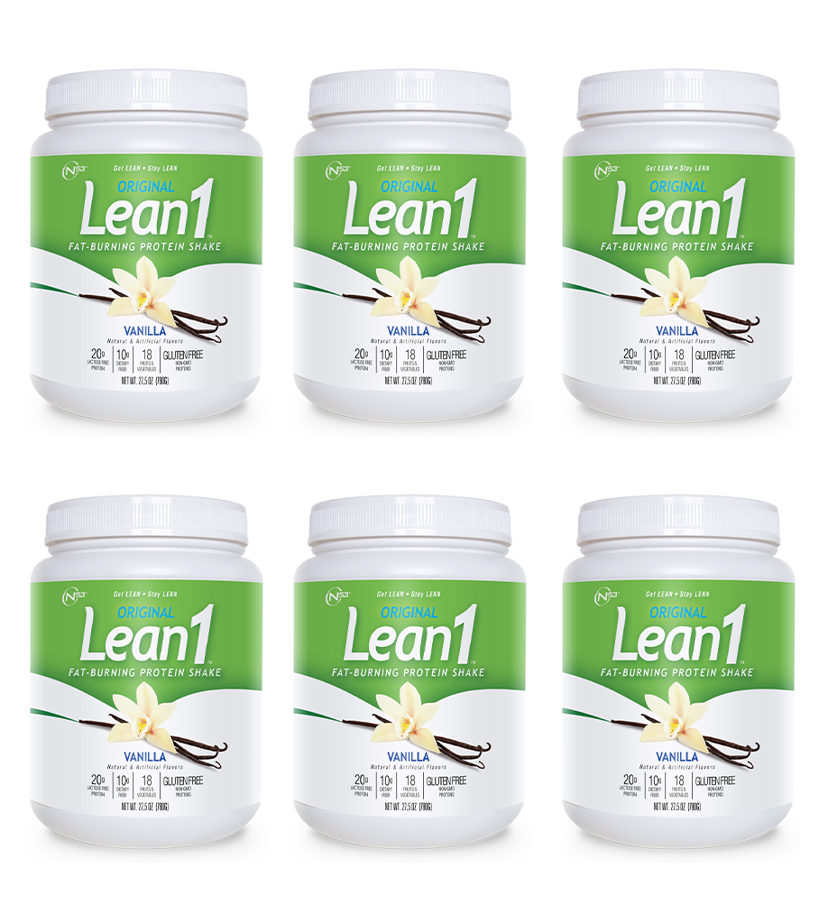 Lean1 Vanilla 15-serving tub (6 tubs)
