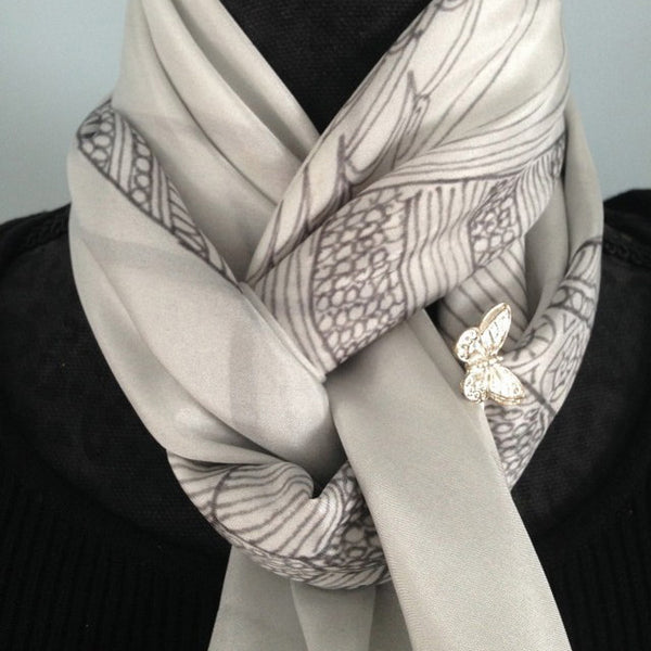 Art Scarf : Ways to tie scarves