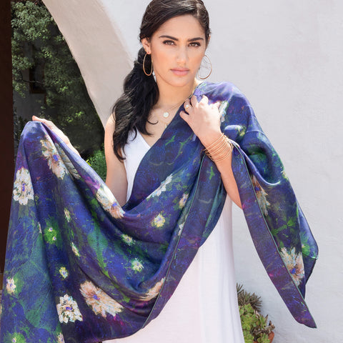 Chetna Singh  Scarf Giverny Launch