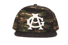 Chicago American Giants Tiger Print Strapback
