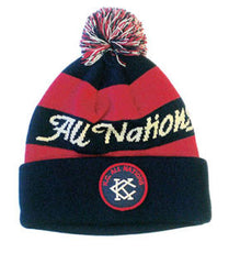 KC All Nations Knit Cuff w/ Pom