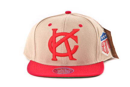KC Monarchs Khaki Two Tone Snapback