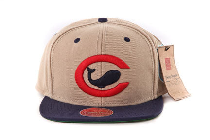 Chicago Whales Khaki Two Tone Snapback