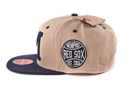 Memphis Red Sox Khaki Two Tone Snapback
