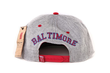 Balt Elite Giants Grey Two Tone Snapback