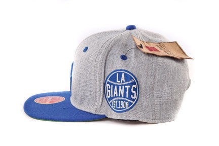 LA Giants Grey Two Tone Snapback