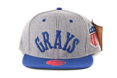 Homestead Grays Grey Two Tone Snapback