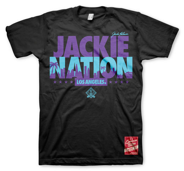JACKIE NATION GRAPE TEE