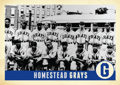 Homestead Grays Royal Classic Tee
