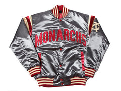 KC Monarchs Satin Varsity Jacket