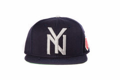 New York Black Yankees Navy Strapback