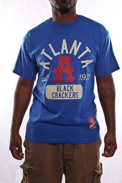 Atlanta Black Crackers Royal Classic Tee