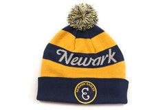 Newark Eagles Knit Cuff w/ Pom