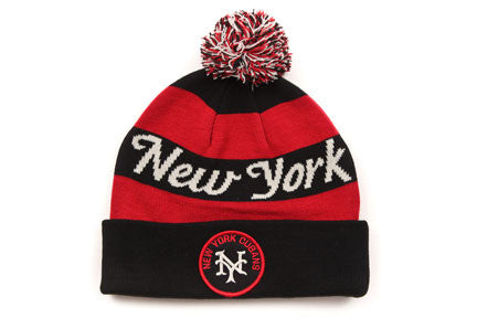 New York Cubans Knit Cuff w/ Pom