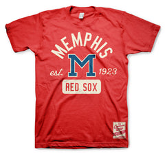 Memphis Red Sox Red Classic Tee