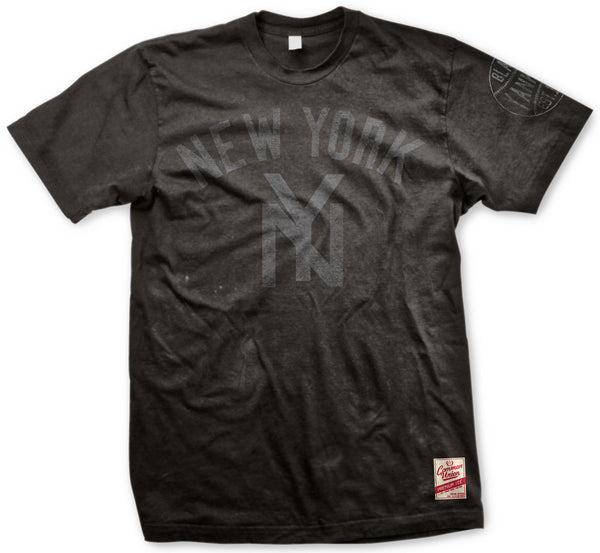 New York Blk Yankees Deniro Premium Tee
