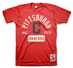 Pittsburgh Crawford Red Classic Tee