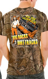 Big Racks & Dirt Tracks Realtree Camo Dirt Late Model T-Shirt