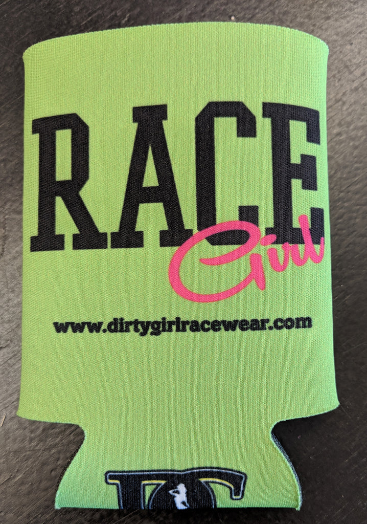 Race Girl Can Cooler