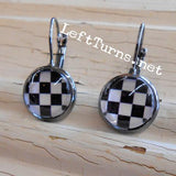 Checkered Earrings - 3 Styles!