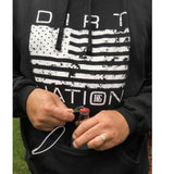 Dirt Nation Tailgate Hoodie w/ Drink Pouch and Bottle Opener