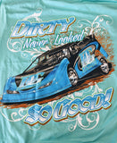 Dirty Never Looked So Good Dirt Late Model Racing T-Shirt