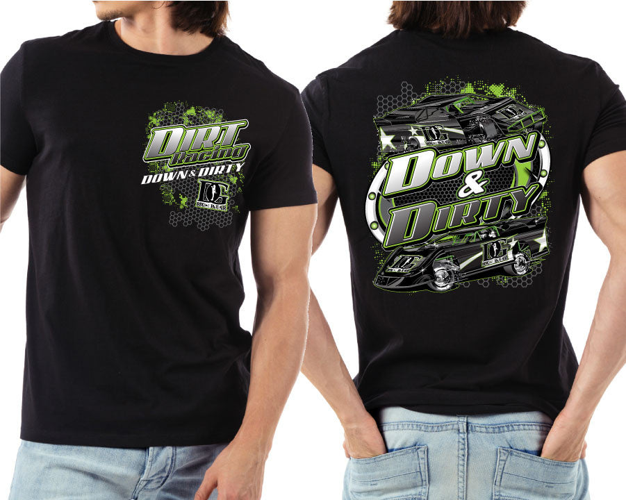 Dirt Late Model - Down & Dirty T-Shirt