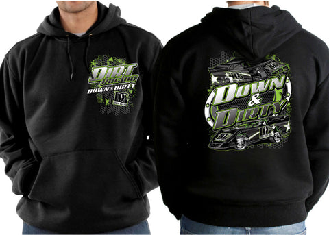 Dirt Track Racing - Dirt Late Model & Dirt Modified Hoodie
