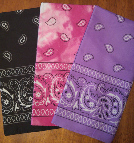 Hankies - Assorted Colors!