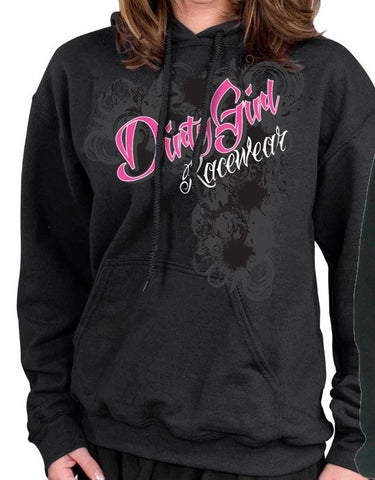 Dirt Late Model Wrap Around Design Hoodie