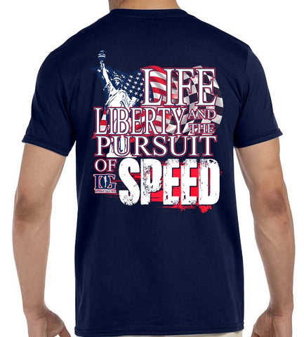 Life, Liberty & the Pursuit of Speed Unisex T-Shirt