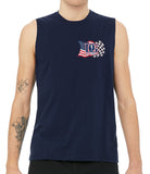 Life, Liberty & the Pursuit of Speed Unisex Sleeveless Shirt