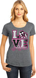 Love Racing - Lace Accent Shirt