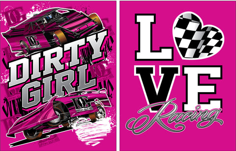 Love Racing Dirt Late Model T-Shirts