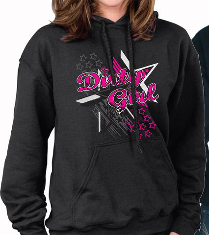 Dirty Girl - Livin' Life With No Speed Limit Hoodie - 2 Color Choices