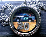 Race Girl Custom Locket & Bracelets