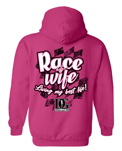 Race Wife Hoodie - New Release!