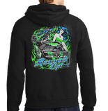 Revved Up Dirt Late Model Racing Hoodie
