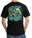 Revved Up Dirt Late Model Racing T-Shirt